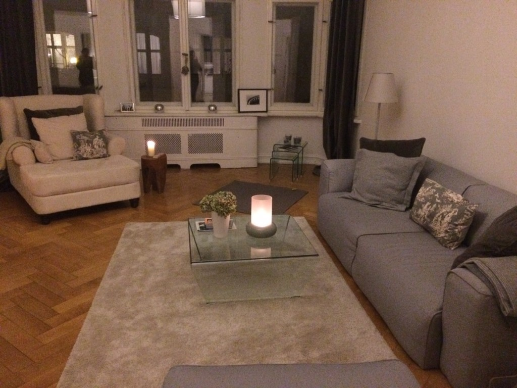Cozy And Stylish Modernes Altbau Wohnzimmer In Charlottenburg Lea